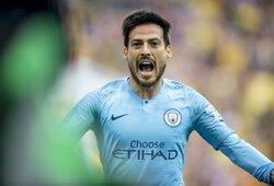 """D.Silva įvardijo futbolininką, kuris galėtų jį pakeisti """"ManCity"""" gretose"""
