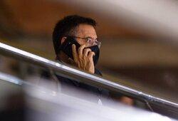 """Oficialu: """"Barcelonos"""" prezidentas J.M.Bartomeu ir valdžia atsistatydino iš pareigų"""