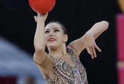 """JAV kelią į olimpines žaidynes nusiklojusi gimnastė E.Griskenas: """"Puikiai žinau, kas yra cepelinai ir šaltibarščiai"""""""