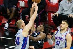 D.Sirvydis sužaidė karjeros rungtynes NBA