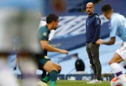 """Kritika J.Guardiolai: """"Bet kuris kitas treneris jau seniai būtų atleistas už tokius dalykus"""""""