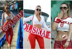 """Lenkų palaikyti atvykusi """"Miss Euro"""": """"Viskas prasidėjo nuo nuotraukos Prancūzijoje"""""""