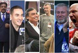 Top 20: turtingiausi sporto komandų savininkai pasaulyje