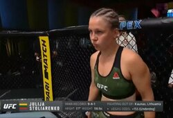 UFC algos: J.Stoliarenko uždirbo keletą kartų mažiau nei J.Kunickaja