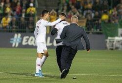 Asmenukė su C.Ronaldo Lietuvos futbolo federacijai kainuos nemenką sumą