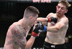 """""""Norėčiau sužinoti, ką rūko teisėjas"""": UFC ekspertai ir sirgaliai negali patikėti teisėjo sprendimu UFC kovoje"""