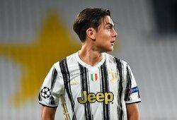 """""""Real"""" rengia įspūdingą pasiūlymą """"Juventus"""" dėl P.Dybalos"""