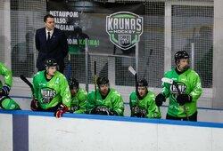 """Įspūdingoje pirmoje pusfinalio dramoje –""""Kaunas Hockey"""" pergalė prieš """"Baltų Ainius"""""""