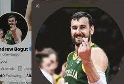 Pinigine bauda FIBA nubaustas A.Bogutas dar kartą pasityčiojo iš jos