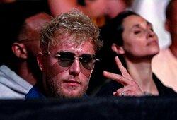 """J.Paulas išjuokė D.White'ą dėl UFC kovotojams mokamų atlyginimų: """"Trečioje kovoje aš uždirbau daugiau nei bet koks kovotojas UFC istorijoje"""""""
