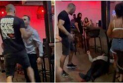 """MMA kovotojas bare per sekundę """"išjungė"""" vyriškį: """"Tai buvo savigyna"""""""
