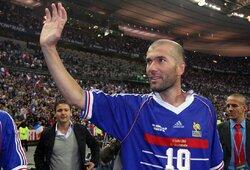 Z.Zidane'as įvardijo geriausią saugą pasaulyje