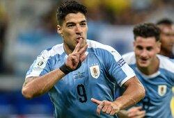 """""""Copa America"""": Urugvajus sutriuškino mažumoje likusį Ekvadorą"""