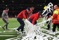 """""""Arsenal"""" nusprendė atleisti 55 darbuotojus ir suerzino algas susimažinusius žaidėjus"""