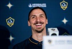 """Anglijos spauda: """"Tottenham"""" sieks prisivilioti klubo neturintį Z.Ibrahimovičių"""
