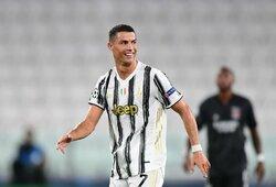 """C.Ronaldo pagerino 86 metus gyvavusį """"Juventus"""" rekordą"""