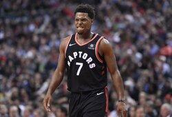 """""""Raptors"""" su K.Lowry pasirašė neįprastą kontraktą"""