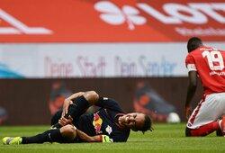 """""""RB Leipzig"""" kapitonas Y.Poulsenas iškrito iš rikiuotės neribotam laikui"""