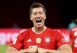 """""""Bayern"""" žvaigždė R.Lewandowskis įvardijo mėgstamiausią futbolo trenerį"""