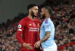 """Su """"Liverpool"""" žaidėju dar kartą susipešęs R.Sterlingas pašalintas iš Anglijos rinktinės"""