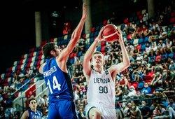 """Aštuoniolikmečiai pralaimėjimu pradėjo FIBA """"Challenger"""" turnyrą"""