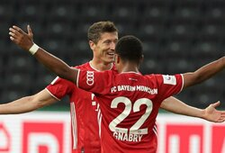 """Bayern"" antrą kartą iš eilės iškovojo ""DFB Pokal"" taurę"