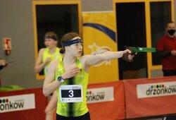 E.Adomaitytė šiuolaikinės penkiakovės varžybose Lenkijoje laimėjo du medalius
