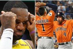 Po vieno didžiausių JAV sporto skandalų – įsiutęs LeBronas ir grasinimai žaidėjams