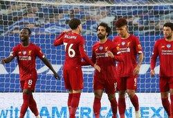 """M.Salah dublis paženklintas """"Liverpool"""" pergale prieš """"Brighton"""""""