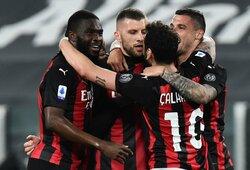 """""""AC Milan"""" svečiuose sutriuškino """"Juventus"""" futbolininkus"""