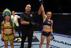 Saldus revanšas: kraują liejusi R.Namajunas pamokė UFC reitingo lyderę!