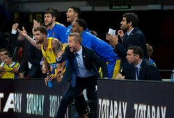 """""""Maccabi"""" svečiuose 30 taškų skirtumu sutriuškino """"Baskonia"""""""