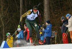 Lietuvos vyrų biatlono rinktinė pasiekė geriausią rezultatą šalies istorijoje