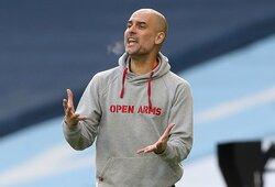"""""""Man City"""" strategas P.Guardiola įvardijo geriausią pasaulio komandą"""