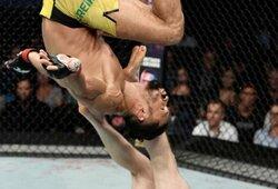 Pamatykite: UFC turnyre cirką surengęs kovotojas patyrė netikėtą pralaimėjimą