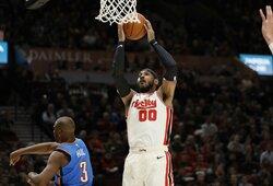 """C.Anthony praėjusiame sezone po """"Rockets"""" žingsnio perspėjo Ch.Paulą"""