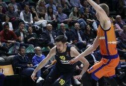 """""""Fenerbahče"""" svečiuose įveikė """"Valencia"""" krepšininkus"""