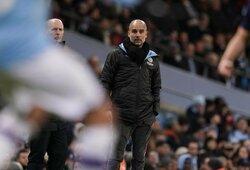 """P.Guardiola atsikirto dėl diskvalifikacijos besidžiaugiančiai """"Barcai"""": """"Siūlau taip garsiai nekalbėti"""""""