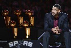 """T.Duncanas grįžta į """"Spurs"""": bus G.Popovičiaus asistentas"""