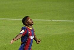 """400 mln. eurų – ar tai ženklas, kad """"Barcelona"""" atrado dar vieną L.Messį?"""