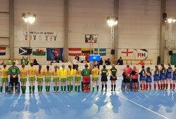 Lietuvos riedulininkės Europos čempionate metė rimtą iššūkį rusėms