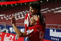 """""""Atletico"""" įveikė """"Valencia"""" ir dar labiau įvirtino savo poziciją pirmoje """"La Liga"""" turnyrinės lentelės vietoje"""