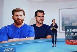 Internautai leipsta juokais: Prancūzijos televizija sumaišė L.Messi su iraniečiu