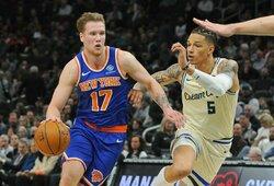 """""""Knicks"""" ieško krepšininko į I.Brazdeikio poziciją"""