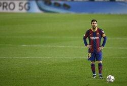 """Buvęs Argentinos rinktinės puolėjas: """"Jei L.Messi persikels rungtyniauti į MLS lygą, pabučiuosiu jo kojas"""""""