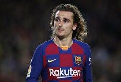 """""""Barcelonos"""" treneris suerzino ir A.Griezmanno tėvą: """"Kaip tu gali atsiprašyti? Tu tik pakeleivis"""""""