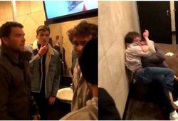 Studentas MMA įgūdžius pritaikė praktiškai: tualete sumušė amerikietiško futbolo žvaigždę