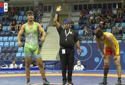 Pasaulio jaunių imtynių čempionate A.T.Barsamyanas kovos paguodos turnyre dėl bronzos