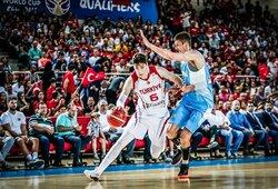 Turkijos rinktinės kandidatų sąraše – du amerikiečiai ir trys NBA žaidėjai