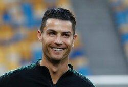 """G.Buffonas apie pažintį su C.Ronaldo: """"Atradau labai kuklų žmogų"""""""